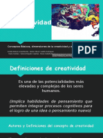 La Creatividad Final