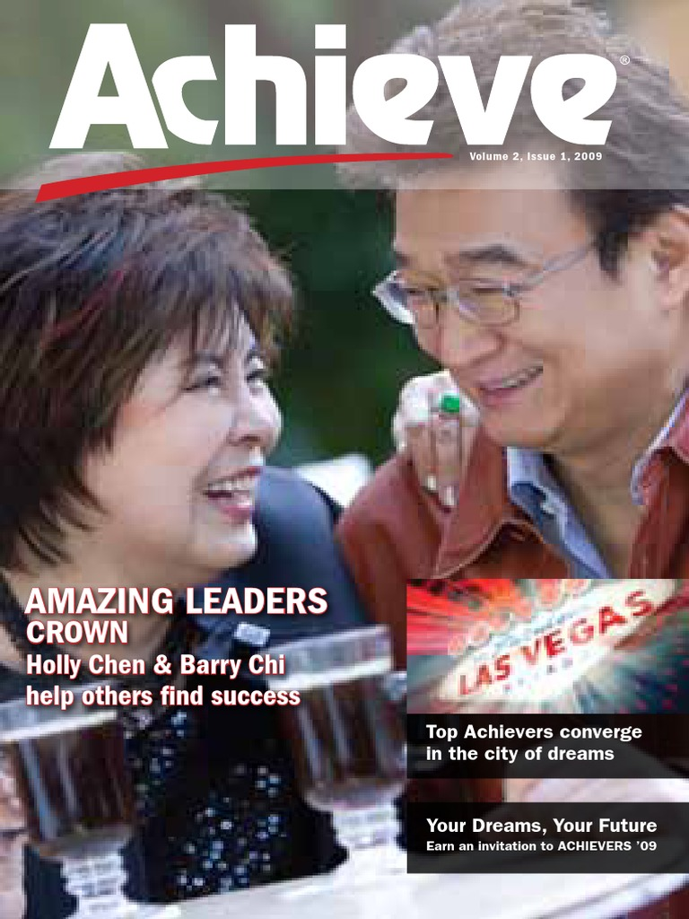 achieve amway pdf leisure