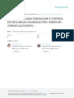 Incidencia, Caracterización y Control de Descargas Vaginales