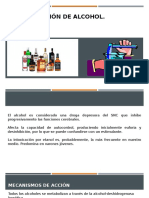 Determinación de Alcohol