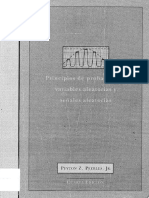 Principios de Probabilidad Variables Aleatorias Peyton Peebles 519.2 p373p