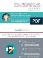 Teresa Alva Crear Estrategia de Marketing Online
