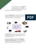 La Serie de Normas ISO 9000 Son Un Conjunto de Enunciados