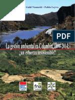 La Gestion Ambiental en Colombia Un Esfuerzo Insostenible