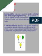 Leyes de Mendel y Cuadro de Punnet