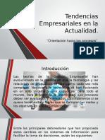 Tendencias Empresariales en La Actualidad