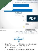 Indicadores de La Direccion - Matriz y Tablero de Control