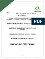 Fundamentos de La Direccion