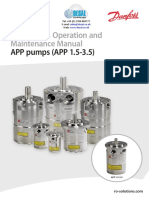 Danfoss Install Operation and Manitenance IOM APP1.5-3.5