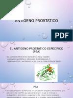 Antígeno prostatico