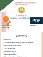 Oscillator and Multivibrators