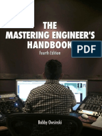 The Mastering Engineers Handbook 4 the Dition