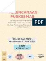 Presentasi Lokakarya Mini Lintas Sektor