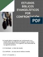 Estudios Bíblicos Evangelísticos Por Confrontación