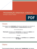 Classes e Objetos 120815 e 190815