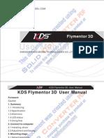 Manual Do Flymentor 3d Sem Senha