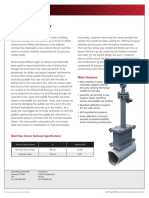 Mud Flow Sensor Flyer