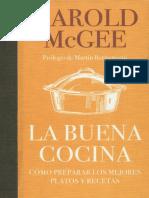 La Buena Cocina - Harold McGee