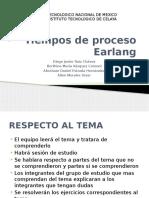 Tiempos de Proceso Earlang (1)