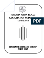 Renja Skpd Kecamatan Manding Ta. 2018 (Cover2)