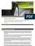 LMC Automotive Alert on Potential Trump Trade Policy Impact to NA Production