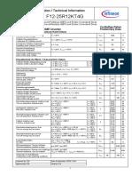 Infineon F12 25R12KT4G DS v02 00 en De