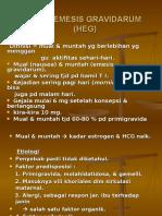 HIPEREMESIS GRAVIDARUM (HEG)