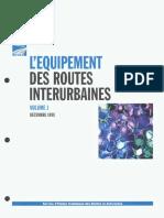 l'Équipement Des Routes Interurbaines Volume1