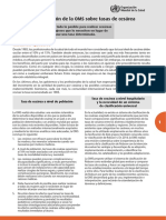 declaracion de la oms sobre tasa de cesarea.pdf
