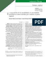 Comparacion de Morbilidad y Mortalidad Neonatal