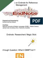 Endnote Presentation
