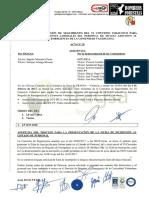 Acta 20 Comisión de Seguimiento VI Convenio Colectivo