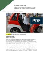 Carros Eléctricos en Colombia-2015