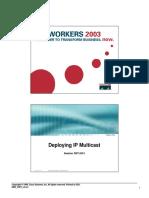 (Cisco Press Core Series) Beau Williamson-Developing IP Multicast Networks. Volume 1-Cisco Press (1999)