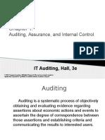 AC522 Ch1 Auditing, Assurance, Internal Control