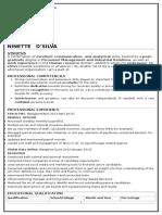 Ninette Resume-Feb 2017
