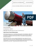 ASME Lifting Analysis of Large Pressure Vessel.pdf