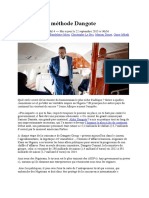Business_la Méthode Dangote