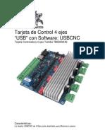 Manual TB6560 4 Ejes Usb