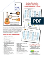 Notebook Music Chord and Music Chart Sampler Book