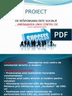 proiect de responsabilitate sociala