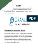 Gramlee -Dissertation Editing Services