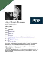 Albert Einstein (artikel)