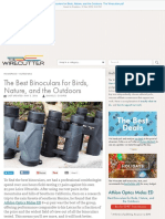 The Best Binoculars for Birds, Nature, And the Outdoors the Wirecutter