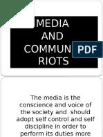 Communal Riots & Media