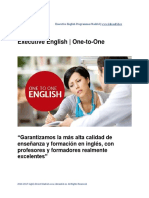 Executive English Programmes Information Pack
