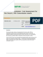 Cost Assessment Report for Gym 0