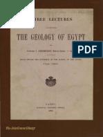 Geology of Egypt 1891