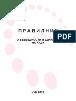Pravilnik o bezbednosti i zdravlja na radu.pdf