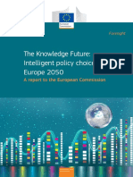 The Knowledge Future Intelligent Policy Choices for Europe 2050